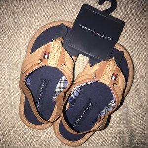 ad52c8831 Tommy Hilfiger Shoes - TOMMY HILFIGER TODDLER FLIP FLOPS